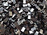 Lego Star Wars 100 Steine Schwarz mit 1x2 Noppen (3004)