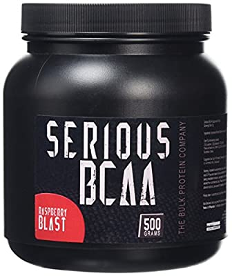 The Bulk Protein Company Serious BCAA Powder Strawberry Lime 100 Servings by The Bulk Protein Company