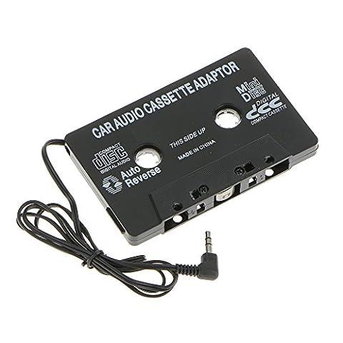Cassette Jack - Adaptateur Bande 3.5mm Aux Audio Cassette Voiture