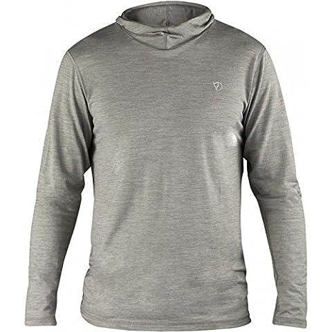 Fjällräven Herren High Coast Lite Hoodie Sweatshirt Sweater, Fog, L