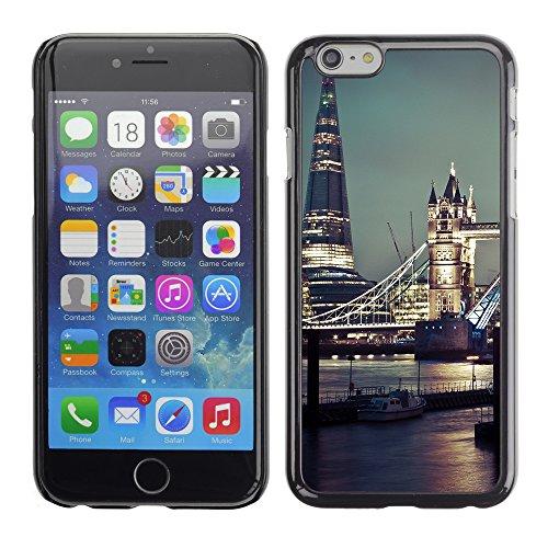 Graphic4You London At Night Postkarte Ansichtskarte Design Harte Hülle Case Tasche Schutzhülle für Apple iPhone 6 / 6S Design #4