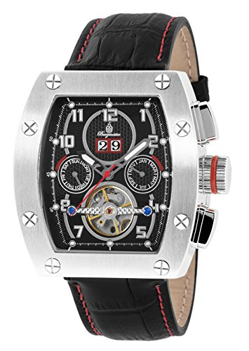 Burgmeister BM358-122 Lucan, Gents automatic watch, Analogue display - Water resistant, Stylish leather strap, Classic men's watch