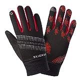 AIHOME Winter Fahrradhandschuhe Touchscreen Damen Herren Warm Rutschfest Winddicht Handschuhe Für Outdoor Sport Motorrad Fahrrad Camping Wandern