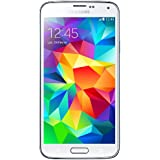 "Samsung Galaxy S5 - Smartphone libre Android (pantalla 5.1"", cámara 16 Mp, 16 GB, Quad-Core 2.5 GHz, 2 GB RAM), blanco"