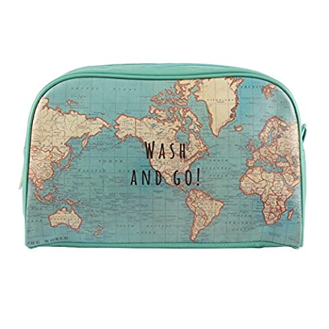 Sass & Belle chc093Toiletry Bag Vintage