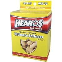 Hearos Ultimate Softness Gehörschutzstöpsel Serie Ohr Stecker, beige, 56Paar preisvergleich bei billige-tabletten.eu