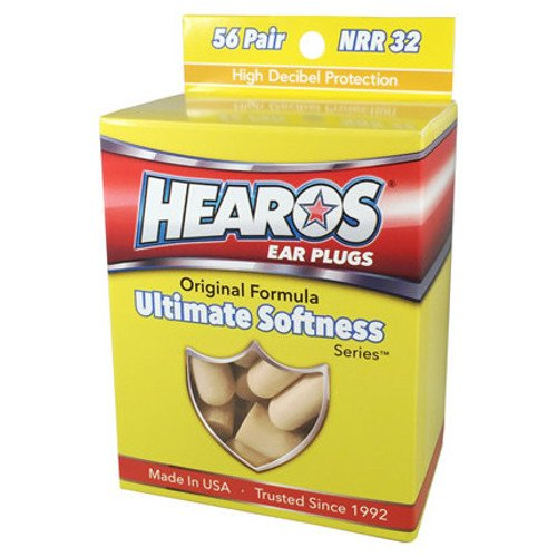 3 Packs 42 Pairs Xtreme Protection Series Hearos Ear Plugs