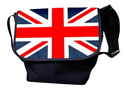 Luxburg®, Borsa a spalla donna multicolore USA Flag Union Jack