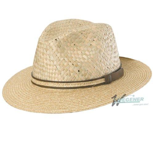 Sombrero de Wegener Herrenhut Sommerhut Strohtreveller color Gr 55 57 59 y  61 437caac81625