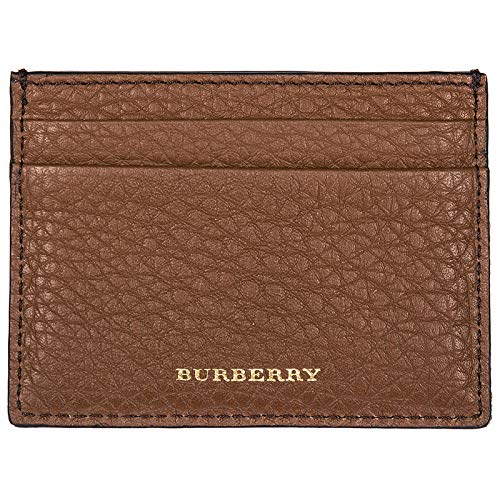 Burberry Kreditkartenetui Echtleder Herren Kreditkarten Geldbörse Sandon Braun
