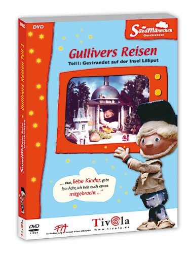 Sandmännchen: Gullivers Reisen, Teil 01 - Gestrandet auf der Insel Lilliput