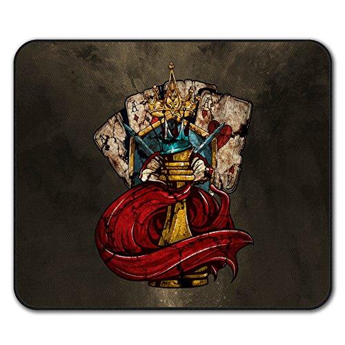 Schach Poker Karte Kasino Mouse Mat Pad, Königin Rutschfeste Unterlage - Glatte Oberfläche, verbessertes Tracking, Gummibasis von Wellcoda