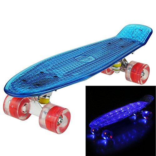 Polycarbonat-rad (Ancheer Skateboard 22