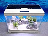 Aquaristikwelt24 Sunsun AT-500 A - Impianto di filtraggio Nano per Acquario, con Display LCD