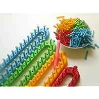 set 4 rectangular knitting looms set 4 telares rectangulares