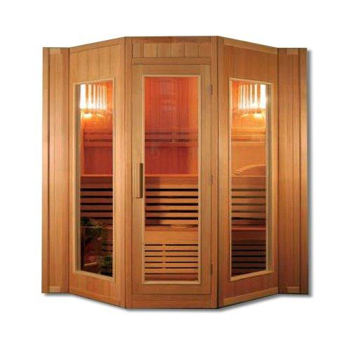 Home Deluxe Relax XXL Sauna, inkl. Harvia Saunaofen und komplettem Zubehör
