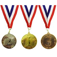 Single set of 1st, 2nd and 3rd place medals by BW Trophies