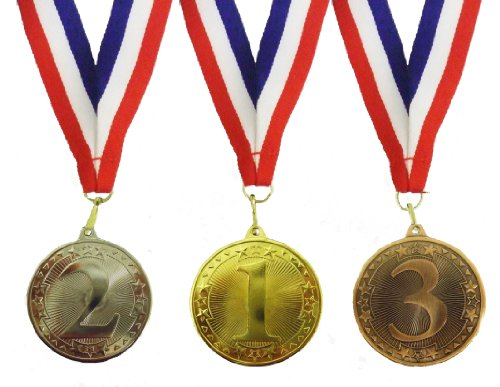 Bulk kaufen -, 100Medaillen, 1., 2. und 3. Platz Medaillen