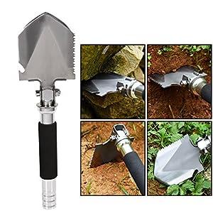 HXZDP Multifunzionale Militare Folding Shovel Spade Giardino Camping Escursione Outdoor Survival Tool