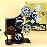 Xizi kreative Retro Weinlese-alte Harz-Film-Projektor-Verzierung Musik-Kasten für Hauptstab-Dekoration-Schreibtisch-Organisator-Dekoration-Zusätze