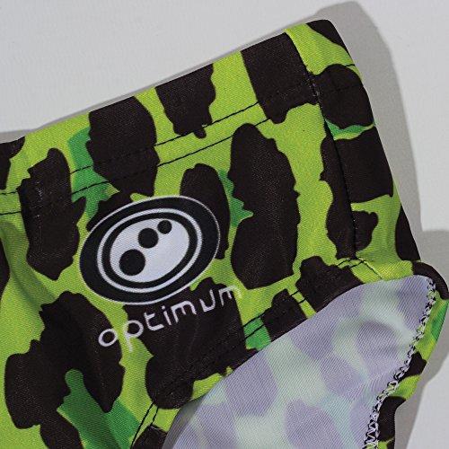 Optimum Herren Neon Leopard Tackle Trunk Unterwäsche grün - grün
