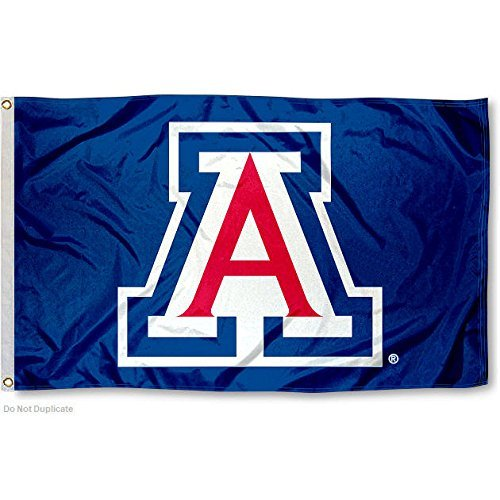 University of Arizona Wildcats Blue Flag Large