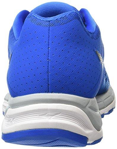 Mizuno Synchro Mx, Chaussures de Running Compétition Homme Blue (Directoire Blue/Silver/High-Rise)