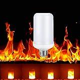 Flamme Lampe, Wollpo 3 modus Flamme Effekt Led Wahre Feuer Farbe Glühbirne E27 Leuchtmittel LED Bulb Kreative Lichter D