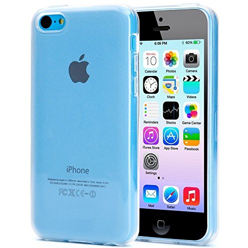 Plus Soft Ultra Thin Transparent 0.3mm Clear TPU Back Case Cover For Apple iPhone 5c