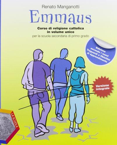 Emmaus. Volume unico. Vangeli-Atti degli Apostoli-Album operativo. Per la Scuola media