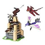 Ionix 21000 - Drachenzähmen leicht gemacht 2 - Berk Watchtower Spielset, 232 Teile