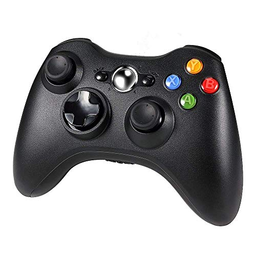 Diswoe Xbox 360 Wireless Controller, Wireless Game Controller mit Verbessertes ergonomisches Design Joypad, Gamepad Wireless für PC/Xbox 360 (Windows XP/7/8/10)