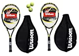 2 x Wilson Tour Tennis Rackets + Covers - Best Reviews Guide