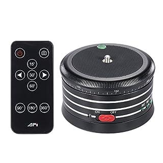 Andoer AFI MRA01 Professionelle 360 ° Metall Elektro-Panoramakopf Kugelkopf mit Fernbedienung für GoPro Action-Kamera Smartphone Pocket-Kamera Micro SLR-Kamera-Digitalkamera