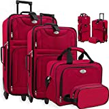 KESSER® 4tlg Trolley Kofferset | Reisekoffer Set ...
