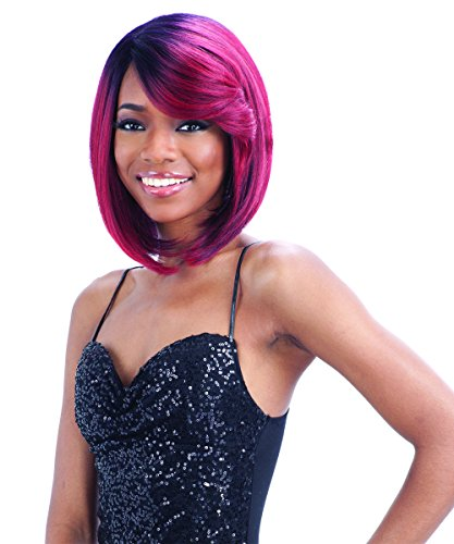 FreeTress Equal Lace Deep Diagonal Part Lace Front Wig - SWEET BLOSSOM (4 - Med Brn) by Freetress