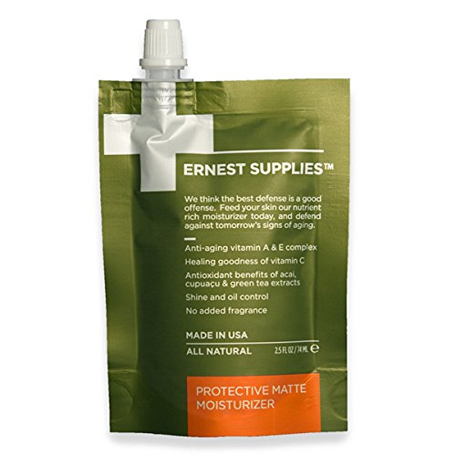 Protective Matte Moisturizer - On-the-Go Pouch (74ml) by Ernest Supplies