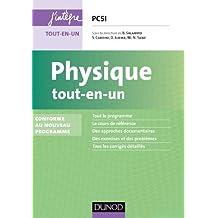 Physique tout-en-un PCSI - 4e éd. - Conforme au nouveau programme