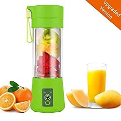 Alfa Mart Portable USB Electric Juicer Grinder Mixer Juice Blender Juice Cup (Assorted Color Will Be Send)
