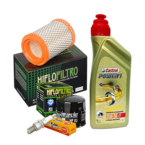 Tagliando Castrol 15W50 filtro olio aria candele Ducati Monster 696/796/1100