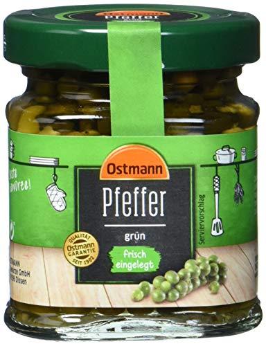 Ostmann Grüner Pfeffer eingelegt, 6er Pack (6 x 70 g)