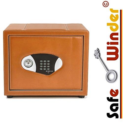Safewinder® 12 DELUXE TAN Uhrenbeweger & Safe - 2