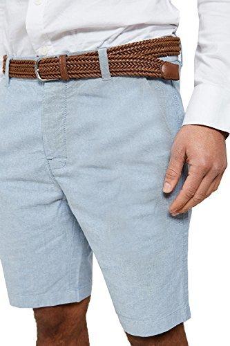 Herren Chino Shorts By Threadbare smw022 - Oxford blau