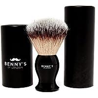BLAIREAU - Benny's of London - CADEAU DE LUXE pour L'ENSEMBLE DE PANSAGE DE VOTRE HOMME - assure le meilleur rasage pour la MAISON ou le VOYAGE, avec un rasage luxe de haute qualité ultérieures de votre SAVON d'or de CRÈME DE RASAGE – UN ENSEMBLE DE RASAGE QUE LES HOMMES DOIVENT AVOIR