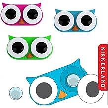 Eule Kontaktlinsenbehälter - Uhu Kontaktlinsenbox Kauz Linsenbehälter Augen Linsenbox