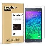 iVoler Vetro Temperato Compatibile con Samsung Galaxy Alpha [Garanzia a Vita], Pellicola Protettiva, Protezione per Schermo