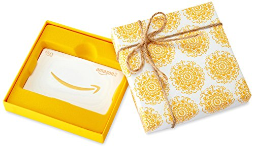 Buono regalo amazon.it - €50 (cofanetto giallo)