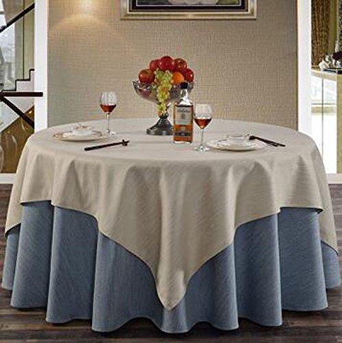 Mantel de mesa, Hotel Lino Mantel Redondo Mantel Cuadrado Mantel Mesa de...