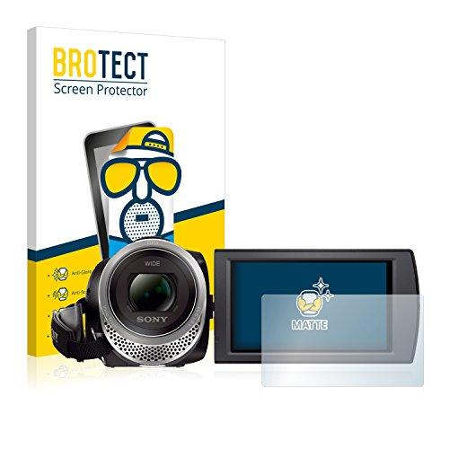 BROTECT Pellicola Protettiva Opaca compatibile con Sony FDR-AX53 [2 Pezzi] - Anti-Riflesso,...