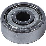 Rodamiento - SODIAL(R) 4mm x 13mm x 5mm Rodamiento de bola de ranura profunda protegida de una hilera 10pzs
